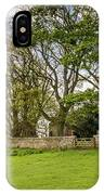 St Oswald's Church Heavenfield IPhone Case