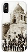 St. Patrick's Cadets On The Third Of July, 1882 At The  IPhone Case