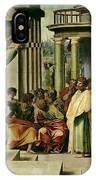 St. Paul Preaching At Athens  IPhone X Case