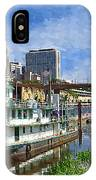 St Paul Tugboat IPhone Case