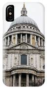 St Pauls Cathedral Closeup IPhone Case