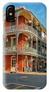 St Peter St New Orleans IPhone Case