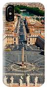 St Peter's Square IPhone Case
