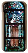 St. Theresa Stained Glass Window IPhone Case