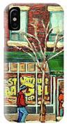 St Viateur Bagel Shop Montreal IPhone Case