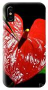 A Point To Your Heart IPhone Case