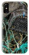 Stacked Crab Traps IPhone Case