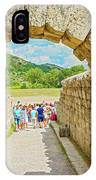 Stadium At Olympia, Greece  IPhone Case