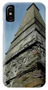 Stafford Park Historical Chimney IPhone Case