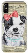 Staffordshire Terrier-jp3857 IPhone Case