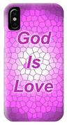 Church Glass Abstract Design IPhone Case
