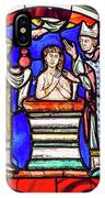 Stained Glass - Baptism - Musee De Cluny IPhone Case