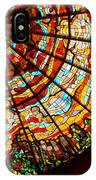 Stained Glass Ceiling IPhone Case