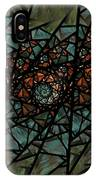 Stained Glass Floral I IPhone Case