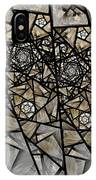Stained Glass Floral IIi IPhone Case