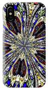 Stained Glass Kaleidoscope 38 IPhone Case