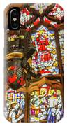 Stained Glass Lantern And Window IPhone Case