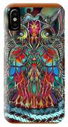 Stained Glass Owl  IPhone Case