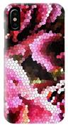 Stained Glass Roses 2 IPhone Case