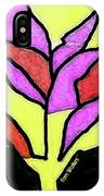 Tree - Stained Glass Watercolor IPhone Case
