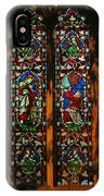 Stained Glass Window Christ Church Cathedral 2 IPhone Case