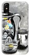 Stainless Steel Still Life Painting IPhone Case