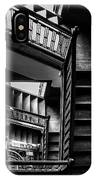 Staircase In Swannanoa Mansion IPhone Case