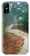 Stairs Down Mountain IPhone Case
