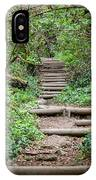 Stairs Going Up Hillside IPhone Case