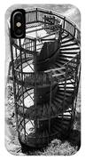 Stairs To Nowhere In Pismo Beach IPhone Case by Priya Ghose