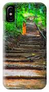 Stairway To Heaven Impasto IPhone Case