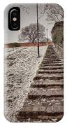 Stairway To Spring IPhone Case