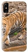 Stalking Tiger - Bengal IPhone Case