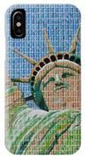 Stampue Of Liberty IPhone Case