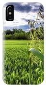 Standing Above The Crop IPhone Case