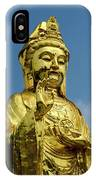 Standing Budda IPhone Case