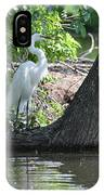 Standing By Shore IPhone Case