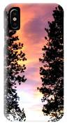 Standing Tall At Sundown IPhone Case