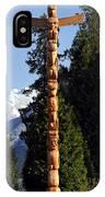 Stanley Park Totem Pole Vancouver IPhone Case