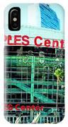 Staples Center Color IPhone Case