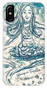 Star Bearer Mermaid IPhone Case by Monique Faella