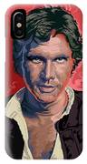 Star Wars Han Solo Pop Art Portrait IPhone Case