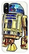 Star Wars R2d2 Droid - Da IPhone Case