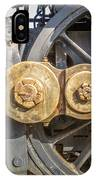 Starboard Drive Wheels And Connecting Rods No. 9000 IPhone Case