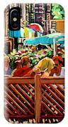 Starbucks Cafe On Monkland Montreal Cityscene IPhone Case