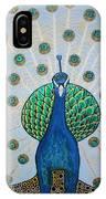 Starbucks Peacock  IPhone Case