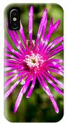 Starburst Of The Wildflowers IPhone Case