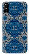 Stardrop Diamond Blue IPhone Case