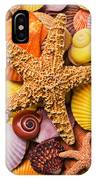 Starfish And Seashells  IPhone Case