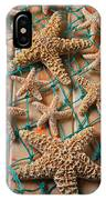 Starfish In Net IPhone Case